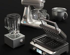 3D kitchen appliances BORK