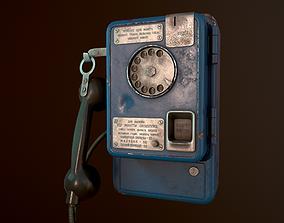 USSR Payphone AMT-47 3D asset