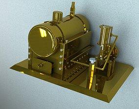 3D Steam engine