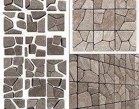 Stone splinter decoration n2 3D model