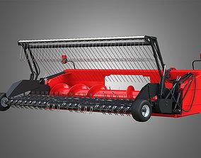 3D model auger Forage Harvester Head