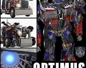 Optimus Prime Alive Transformer 3D