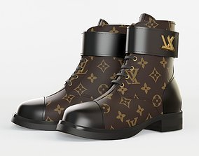 louis vuitton WONDERLAND FLAT RANGER 3D model