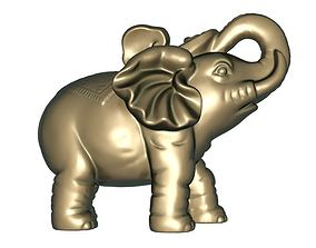 Elephants 3D print model