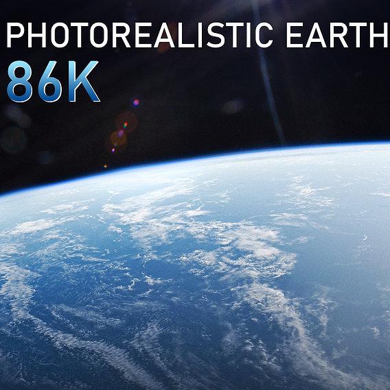 Earth 86k 3D model
