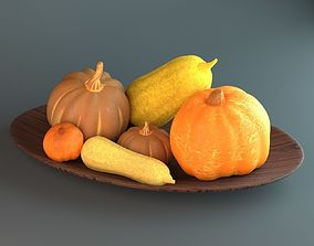 3D Pumpkins and Squashes