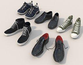 3D Shoes Collection Set 3