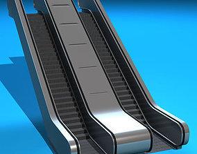 Escalators 3D model