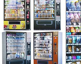 Showcase 014 Vending machine 3D asset
