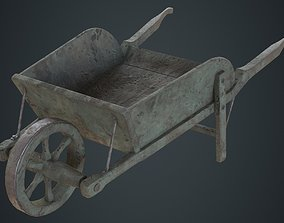 3D model Wheelbarrow 4B