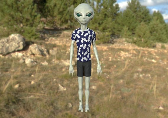 Vacation Alien