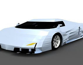 Hypercar Vision J16 C 3D model