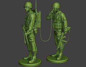 American engineer soldiers ww2 SCR-300 3D printable model