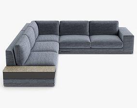 Longhi Cohen Sectional Sofa 3D model