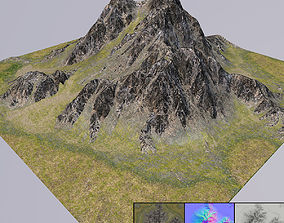 3D Mountain lowpoly