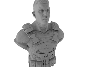 Frank Castle AKA The Punisher Bust for 3D Printing