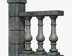 3D Stone Baluster