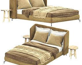 Ikea Tufjord Upholstered Bed 3D model