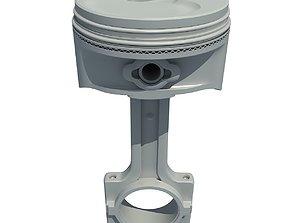 Detailed model of Piston