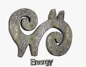 3D model Energy Symbol