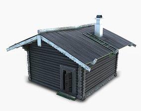 3D asset BathHouse