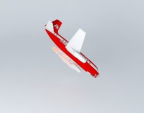 3D model NW-57A-2 Paradox Airlines Flight 3001