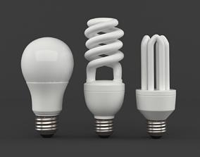3D LED light bulbs