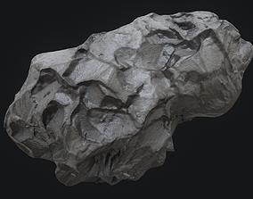 collision Meteor Asteroid Rock 4K 3D model