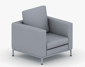 3D model realtime 0988 - Armchair