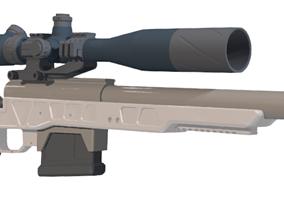 LSP Amoeba Striker kit 3D printable model