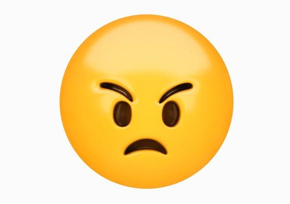 Emoji Angry Face