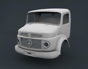 Mercedes Benz 2624 Cabin Truck 3D printable model