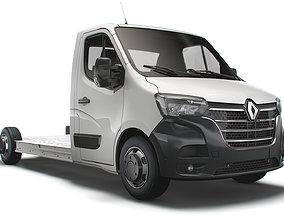 Renault Master FWD LL35 L3H1 Platform Cab 2021 3D
