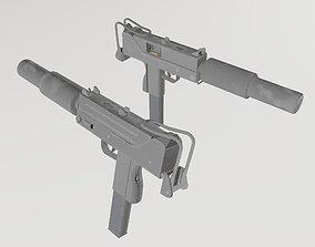 3D asset Mac-10