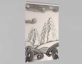 pano Carved panels 3D print model