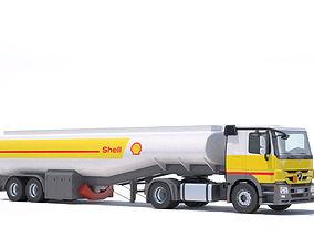 Mercedes Actros Refueler Truck 3D