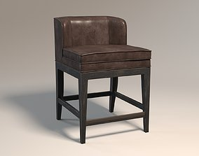 Dining Room Jada Counter Stool by Hooker Furniture 3D