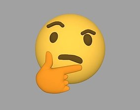 3D Emoji Hmmmm