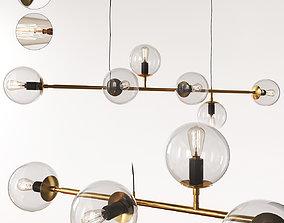 Scandinavian pendant lamp 017 3D