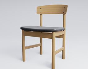 3D model Mogensen 3236 Chair Replica