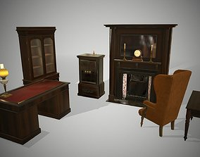 Antique furniture 3D model