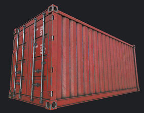3D model Cargo Container PBR