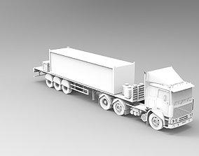 3D model TIR truck