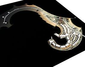 3D model Jumeirah Island 2 Dubai