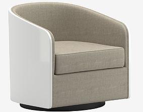 Usona Home Coque Swivel Chair 3D model