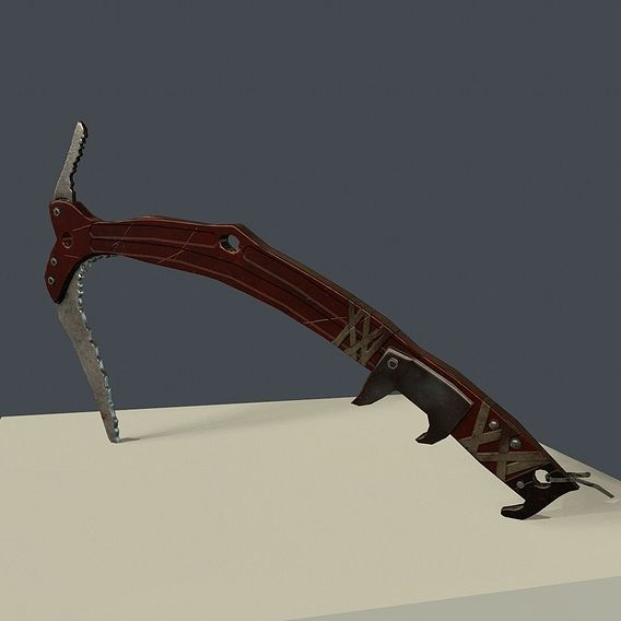 Pickaxe from Tomb Raider