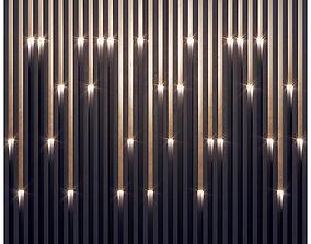 3D model Wall Decorative panel