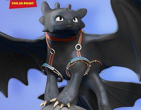 Toothless Fanart 3D printable model