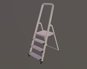 3D asset Stepladder