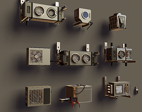 Air Conditioners Pack 3D
